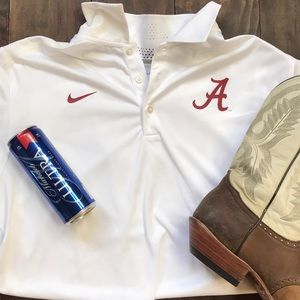 Nike Dri-Fit University of Alabama Golf Polo Shirt